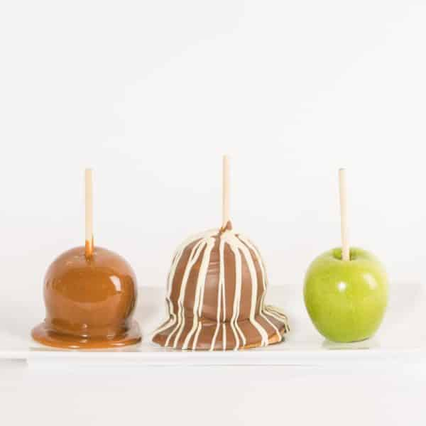 Brown Cow Caramel Apple progression