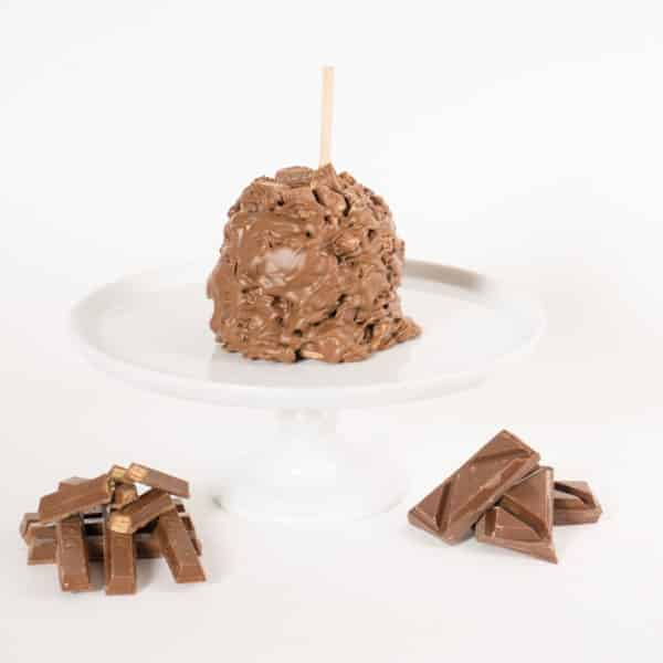 Milk Chocolate Wafer Cookie Caramel Apple with product display